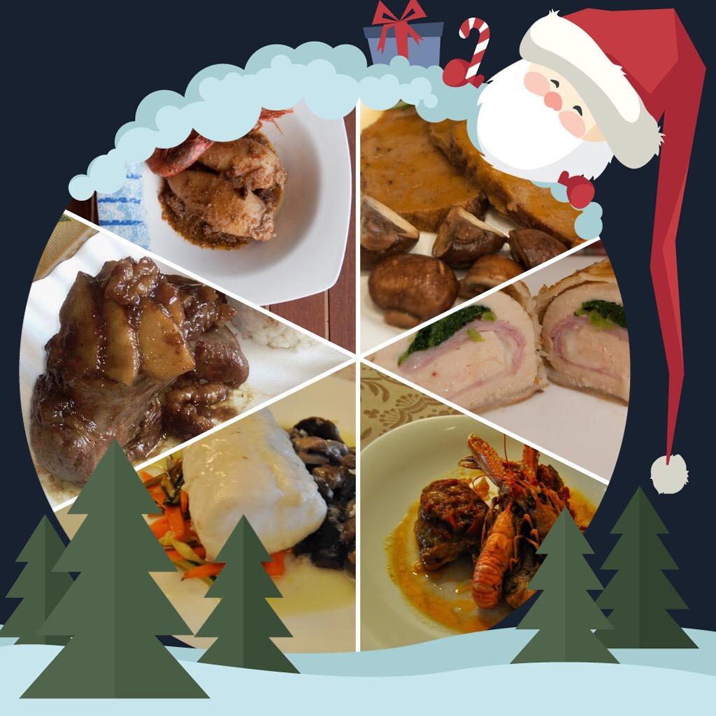 Platos para Navidad y dias festivos