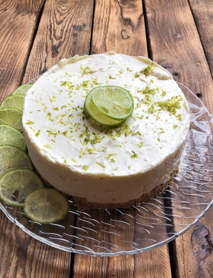 Cheesecake de lima y limón