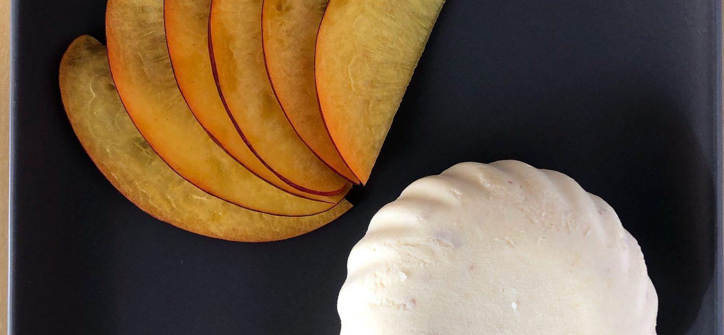 Mousse de nectarina