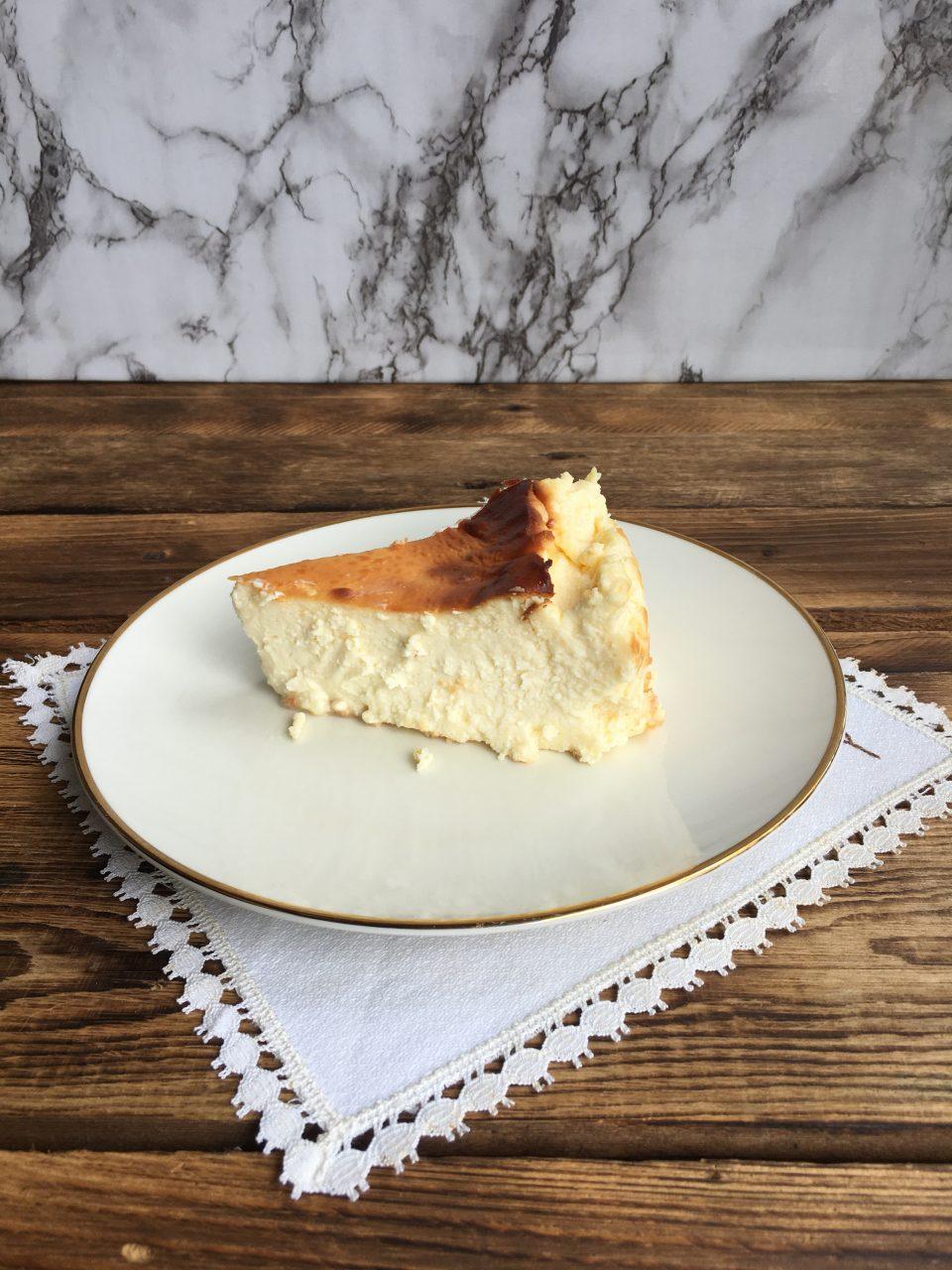 Aspecto del interior de la tarta
