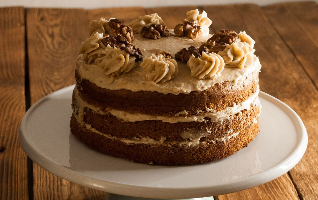 Tarta de nueces de California